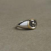 道家太极法印开口银戒指